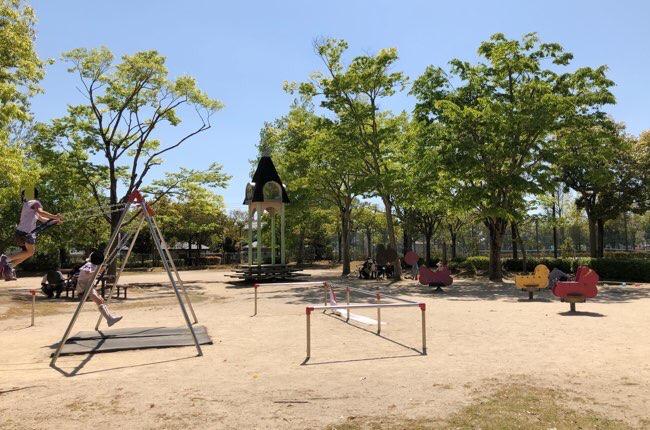 高美が丘公園 遊具