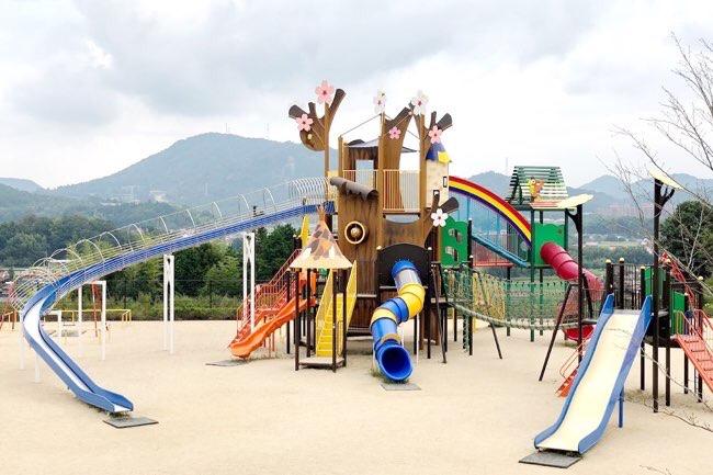 龍王山総合公園 遊具
