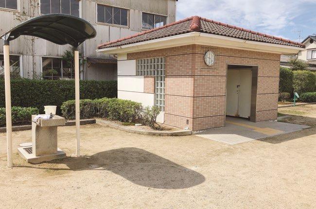 八本松上組児童公園トイレ