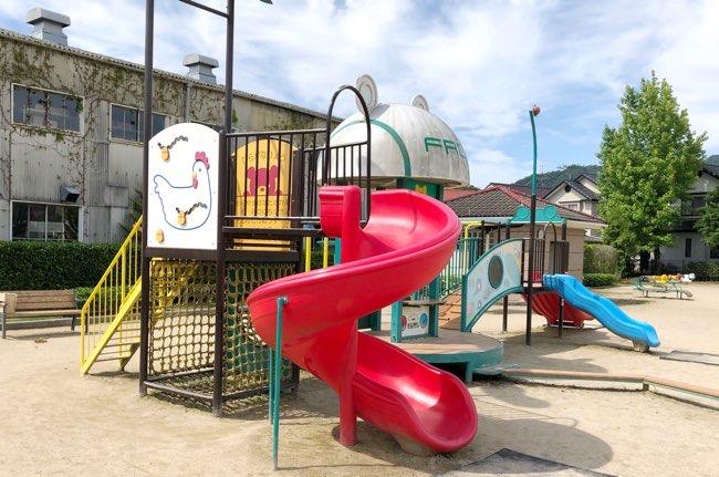 八本松上組児童公園遊具